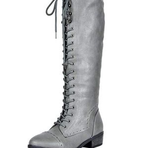 0526 Women's Koson Knee High Winter Riding Boots